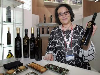 Núria Juanós, directora de vendes i exportació, a la passada edició d'Alimentària.  Foto:ARXIU