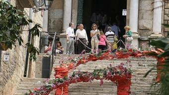 Les escales de Sant Martí. Foto:MANEL LLADÓ