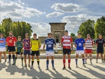 La foto promocional del nou campionat de la divisió d'honor. Foto:FER