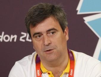 Miguel Cardenal, durant els Jocs de Londres Foto:EFE