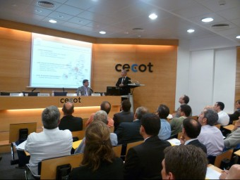 Jornada sobre business angels de Cecot.  Foto:JORDI TORRENTS