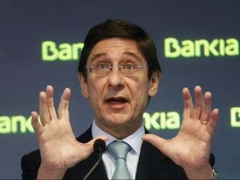 El president de Bankia, que rebrà prop de 18.000 milions del fons de rescat europeu Foto:ARXIU