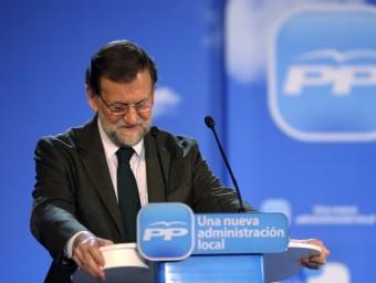 La publicació de les suposades llibretes de la comptabilitat B de Bárcenas ha posat contra les cordes la cúpula del Partit Popular.  Foto:ARXIU
