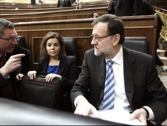 Mariano Rajoy ha presentat un paquet de mesures de reactivació  Foto:ARXIU