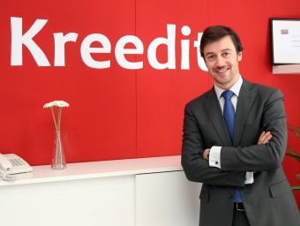 Jordi Solé és el director executiu de Kreedit, consultoria especialitzada en negociació bancària.  Foto:JUANMA RAMOS