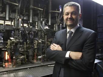Vicenç Pedret, director general de l'empresa Ramon Clemente d'El Masnou.  Foto:ALBERT SALAMÉ
