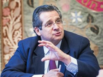 Roure demana que es valori l'aportació de la inversió privada a l'economia.  Foto:JOSEP LOSADA