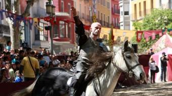 Un dels espectacles de Drakònia. Foto:JOAN SABATER