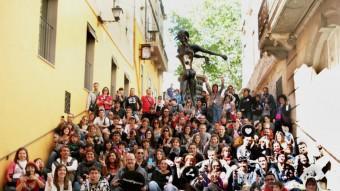 Els participants a la trobada d'instagramers Foto:ARXIU