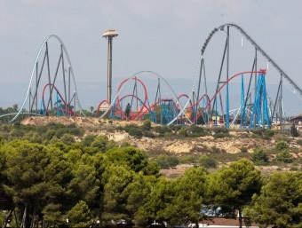 Terrenys de Port Aventura on anirà el complex Barcelona World.