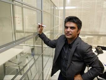 El cofundador i CEO de Barcelona Business Landing, Lluís Lluch.  Foto:ORIOL DURAN