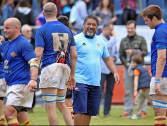 Lewis Willams, entrenador dela Santboiana. Foto:EL 9