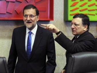 Mariano Rajoy a la seva darrera visita a Brussel·les