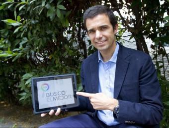 Lluís Soler Gomis, fundador del comparador de software, Busco El Mejor.  Foto:ALBERT SALAMÉ