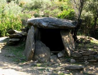 El dolmen de la Vinya del Rei és el més gran del terme municipal de Vilajuïga Foto:EUDALD PICAS