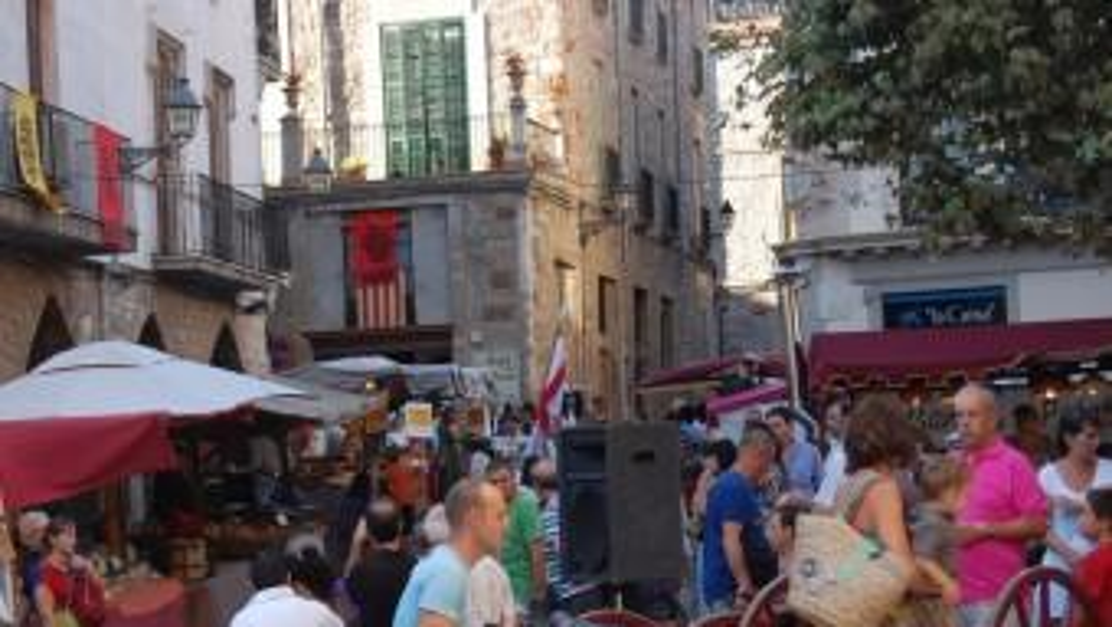 Una imatge del mercat del segle XVIII en l'edició de la festa barroca de l'any passat Foto:ORGANITZACIÓ XII FESTA BARROCA