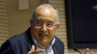 El sociòleg Salvador Cardús. Foto:ALBERT SALAMÉ