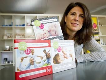 Raquel Abulí és una dels tres socis que van fundar Baby'n'Joy el 2012.  Foto:ALBERT SALAMÉ