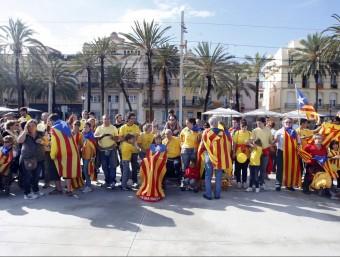 La Via Catalana ha concentrat l'interès informatiu de  la setmana  Foto:ARXIU / ORIOL DURAN
