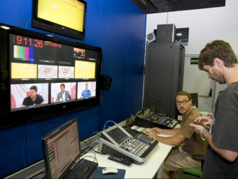 Les televisions locals tornen a afrontar un futur curull d'interrogants.  Foto:ARXIU