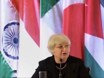 Janet Yellen, la favorita a succeir Bernanke.  Foto:ARXIU