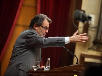 El president de la Generalitat Artur Mas.