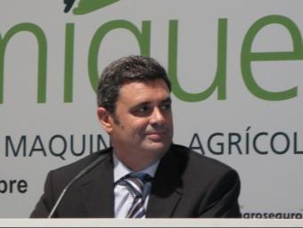 Luis Quevedo, negociador del tractat de lliure comerç amb els EUA.  Foto:M.R.C