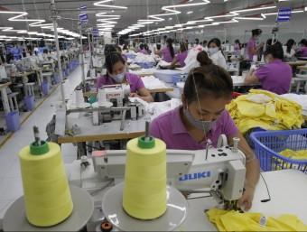 El mercat asiàtic ja aporta més milions de treballadors que l'europeu.  Foto:ARXIU/ REUTERS