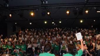 Una assemblea de docents de les illes Balears Foto:ELPUNTAVUI