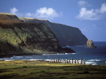 Manuel d'Amat i Junyent, virrei del Perú, va organitzar cinc expedicions a 'Rapa Nui' el 1770.  Foto:ARXIU