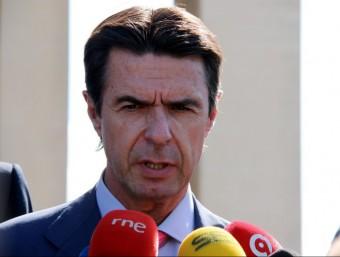 José Manuel Soria, ministre d'indústria i energia espanyol.