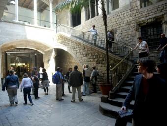 El 1963 un palau gòtic-renaixentista del carrer Montcada es transforma en Museu Picasso.  Foto:Q. PUIG