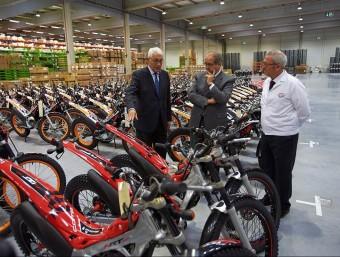 Honda ha invertit 12 milions d'euros en el seu centre logístic de Santa Perpètua. Foto:ARXIU