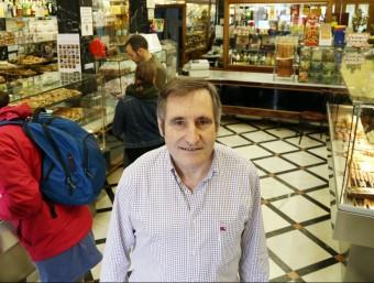Josep Maria Roig, a La Colmena.  Foto:ANDREU PUIG