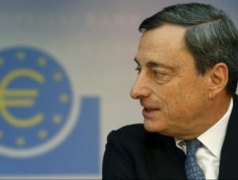 El president del BCE busca solucions per revitalitzar la deprimida economia de la zona UE.  Foto:ARXIU