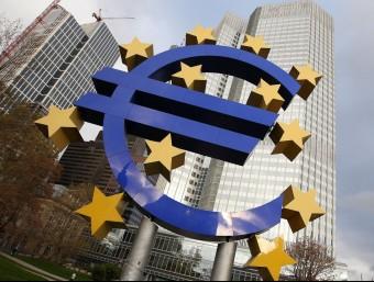 La frenada del PIB de la zona euro el darrer trimestre evidencia que la recuperació encara és molt feble Foto:ARXIU