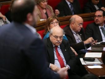 Els pressupostos elaborats per Andreu Mas-Colell han passat el primer tràmit parlamentari gràcies a ERC Foto:ARXIU