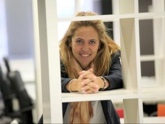 Elisabeth Martínez dirigeix l'acceleradora especialitzada en projectes online.  Foto:JUDIT FERNÁNDEZ