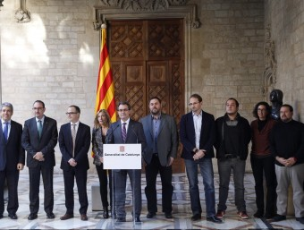 Acord de la majoria de grups polítics per a consensuar la pregunta que ha de decidir quin ha de ser el futur de Catalunya,