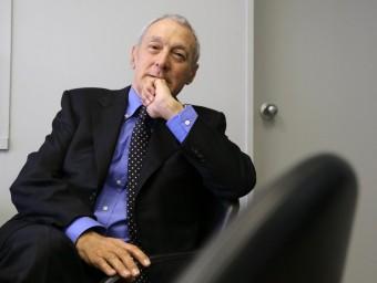 Joan Vilanova, retratat a la seva empresa a Barcelona, dubta que el de la vigilància sigui ara un negoci rendible.  Foto:AUTOR FOTO