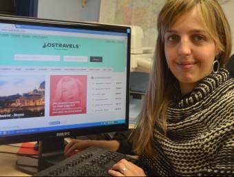 Teresa Plana, creadora i impulsora del portal Lostravels.  Foto:ARXIU LOSTRAVELS
