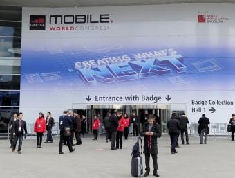 Una imatge del World Mobile Congress d'aquest any.  Foto:ARXIU