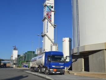 La nova unitat de liquats de Messer a El Morell.  Foto:L'ECONÒMIC