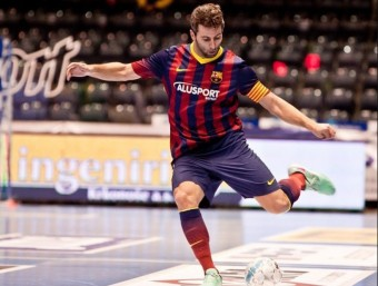 Torras en una acció amb el Barça Foto:L'ESPORTIU