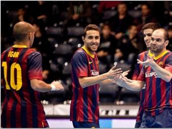 El Barça Alusport va celebrar un triomf important Foto:O.D