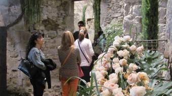Un dels espais florals més visitats aquesta dies a la ciutat. Foto:DANI VILÀ