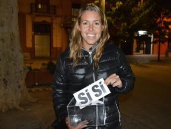 Laura Pous té clar què votarà el 9-N Foto:L'ESPORT PER LA INDEPENDÈNCIA