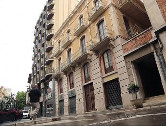 La casa natal de Salvador Dalí, al carrer Monturiol de Figueres. Foto:MANEL LLADÓ