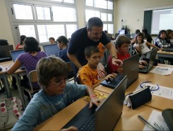 """""""Observant potser ens adonarem que les aules, en general, no estan gaire adaptades a l'ús de les noves tecnologies"""".  Foto:ARXIU"""