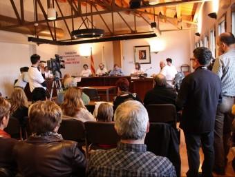 Un grup accepta la mediació de la Generalitat davant la presentació d'un ERO d'Ercros.  Foto:ACN